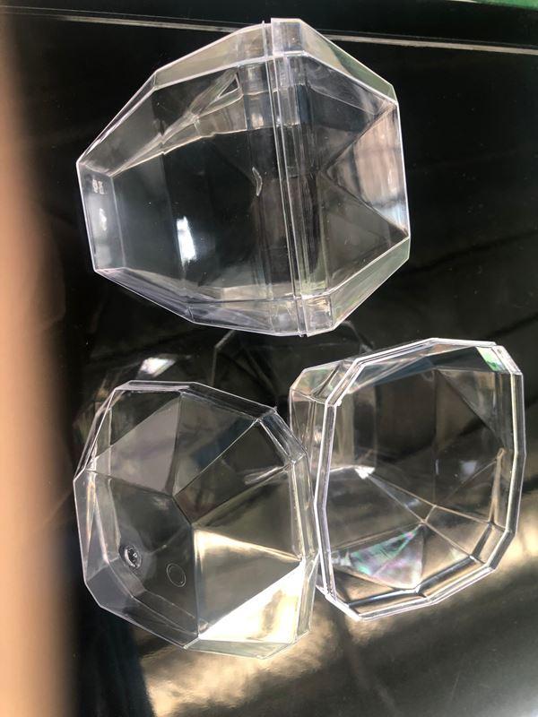 砖石切面首饰盒—带盖