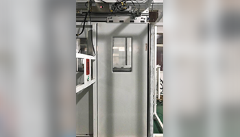 Electric control and drive  sliding door