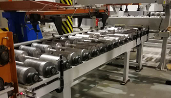 Rail transit axles, wheelset logistics lines